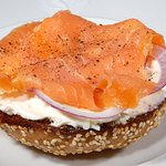 Our Lox Burger Sandwitch