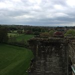 panoramic from the top of the castle