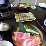 Shabu Shabu lunch
