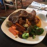 The beef roast