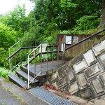 会津藩主松平家墓所の裏口付近です