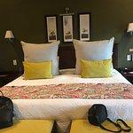 Ottima stanza, spaziosa, pulita e confortevole. Un letto enorme e un bagno con possibilità di do