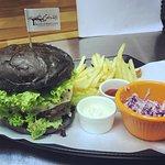 """Our famous """"Berembun"""" Beef Burger"""
