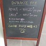Entrance fees