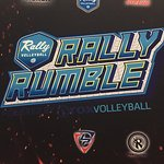 Here for Rally Rumble Volleyball tournament. This is a great state of the art facility. Awesome