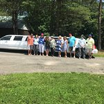 Cousins traveling in style to Stony Knoll !