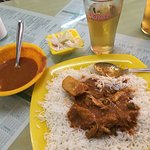 Chicken Masala with Rice, delicious!