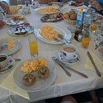 Guten Tag zusammen... Hier nochmal ein paar Bilder aus dem Francesco. Frühstück/Blick auf den St
