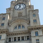 Clock tower on Royal Liverpool buiding