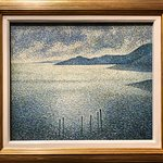 """""""Discovered"""" this Seurat-influenced pointillist"""