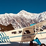 Picture perfect day to FLY DENALI!