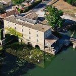 Vue aérienne du Moulin