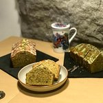 Matcha based pound cakes are our chef's specialties