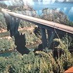 Rio Correntoso,puente ruta  231 villa la Angostura