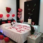 Habitaciones românticas