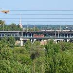 Астраханский мост через пойму реки Царица