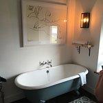 Bath in bedrooms