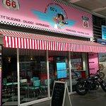 Fifties Burger Restaurant Foto