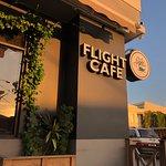 Sunset on Flight café