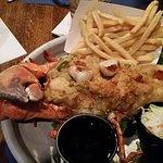 Stuffed lobster dish@ Tia's Boston