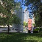 Crown Fountain ภาพถ่าย