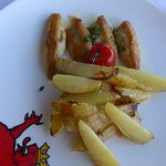 Eglifilet mit Kartoffeln (kleine Portion)