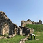 Hastings Castle - the grounds