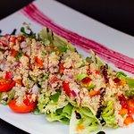 Ensalada Vegetariana con quinoa