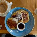 Pancakes & hot chocolate