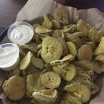 Wow! You get a HUGE basket of Fried Pickles Or Peppers for only $6.99😳🙌🏼