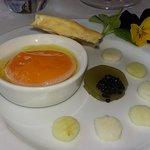 le caviar apparaît ...