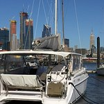Enjoy Spectacular views of the NYC Skyline from HudsonCat