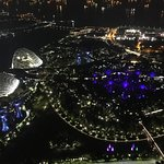 AWESOME MARINA BAY SANDS HOTEL,VIEW FROM ROOM NUMBER 3990, AS SEEN IN MAY 2018.