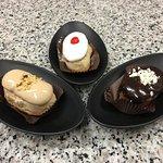 tradizione e innovazione...il nostro tris di paste al gelato...per intenditori...