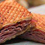 Hot panini sandwiches!