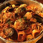 Seafood Pasta with Fra Diavolo Sauce