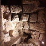 Vestiges de l'escalier médiéval