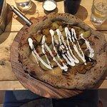 Couch Potato Pizza - The seitan is delicious!!