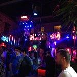 Bar street ночью
