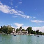 Nice lake in Retiro Park