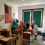 School groups of all ages enjoy museum tours.