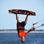 See life from a new perspective with a kiteboarding lesson!