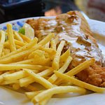 perch/pike with fries