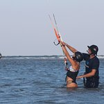 Learn to fully control the kite during our Kite Session Beginner Lesson!