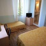 camera matrimoniale / tripla Albergo Villa Gradita a Forte dei Marmi