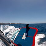 the only wake surf boat in canary island