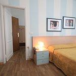 camera comunicante matrimoniale / tripla Albergo Villa Gradita a Forte dei Marmi