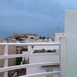 Rooftop view of the Ibiza Castle