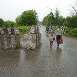 Enguri Bridge and border crossing