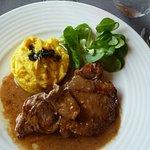 Filet mignon au Sauce Gorgonzola